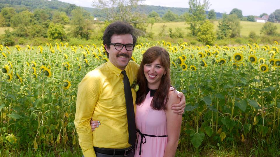 at a wedding (on a farm!) in pennsylvania