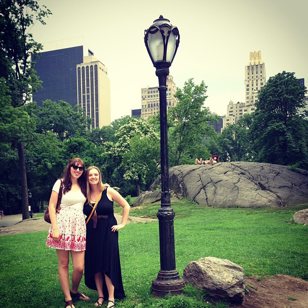 central park with cindy