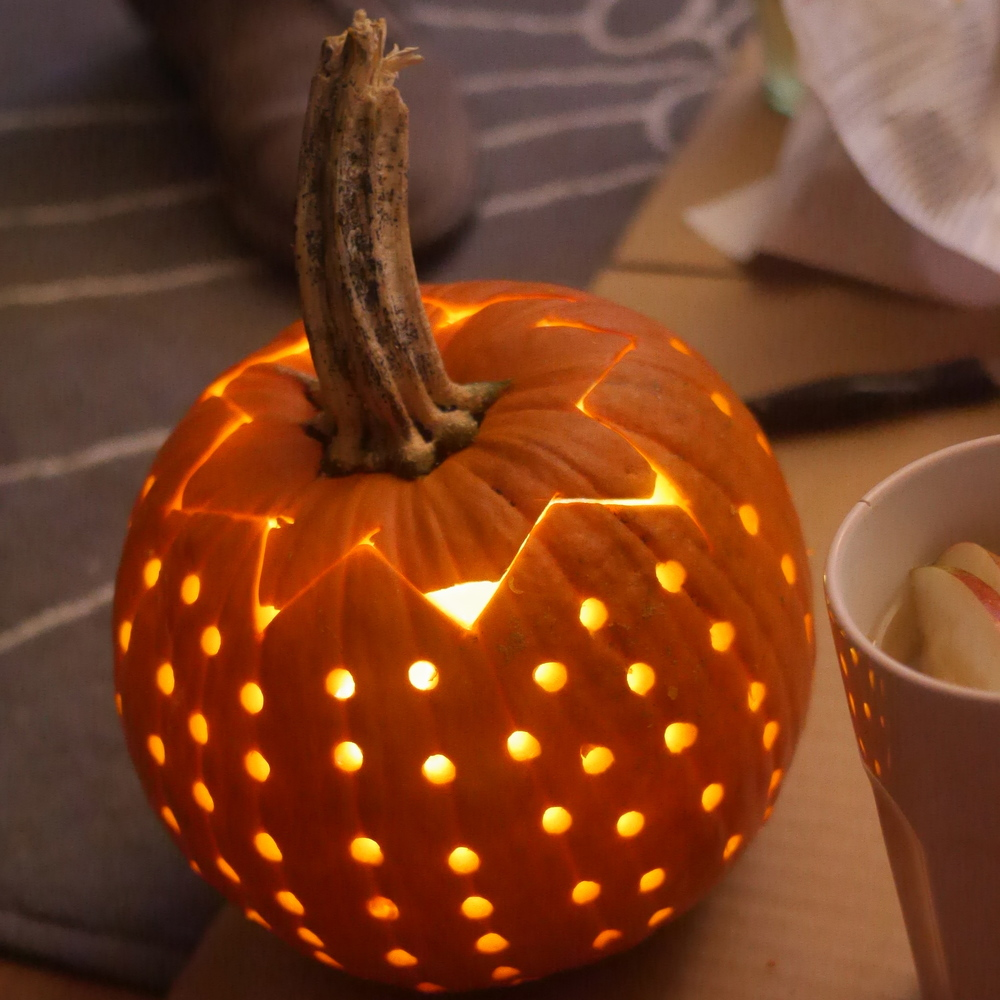 Disco Ball pumpkin