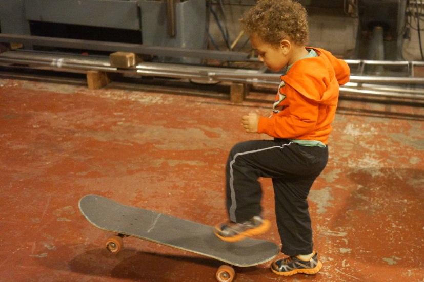 Cool skater dude