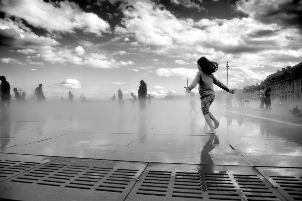 Reflecting Pool, Bordeaux, France. 2013