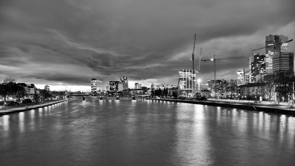 Main River, Frankfurt, Germany 2014
