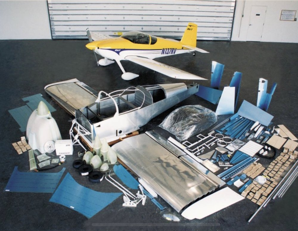 Quickbuild RV-7 kit