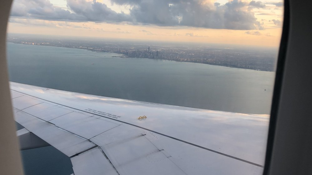 Final into Chicago