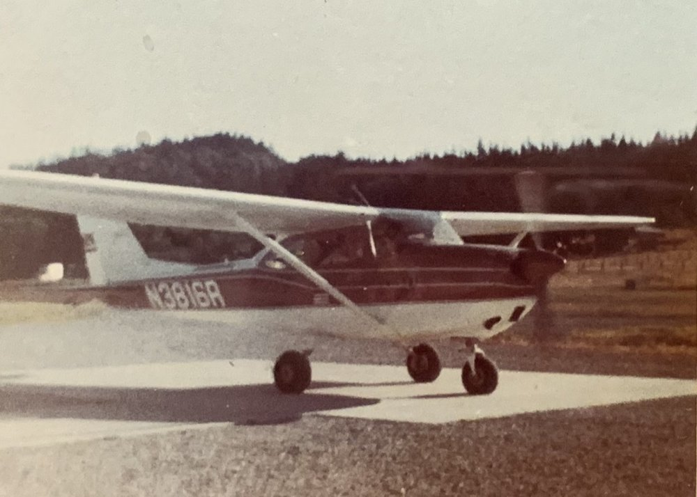 1966 Cessna 172 - First ride in a small airplane