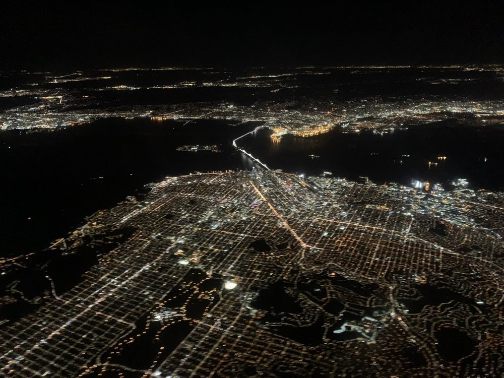 always love the view into San Francisco