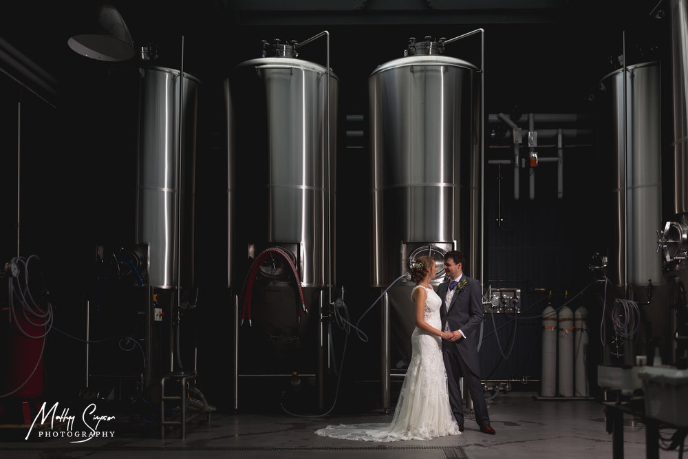 Wylam Brewery Wedding Photo