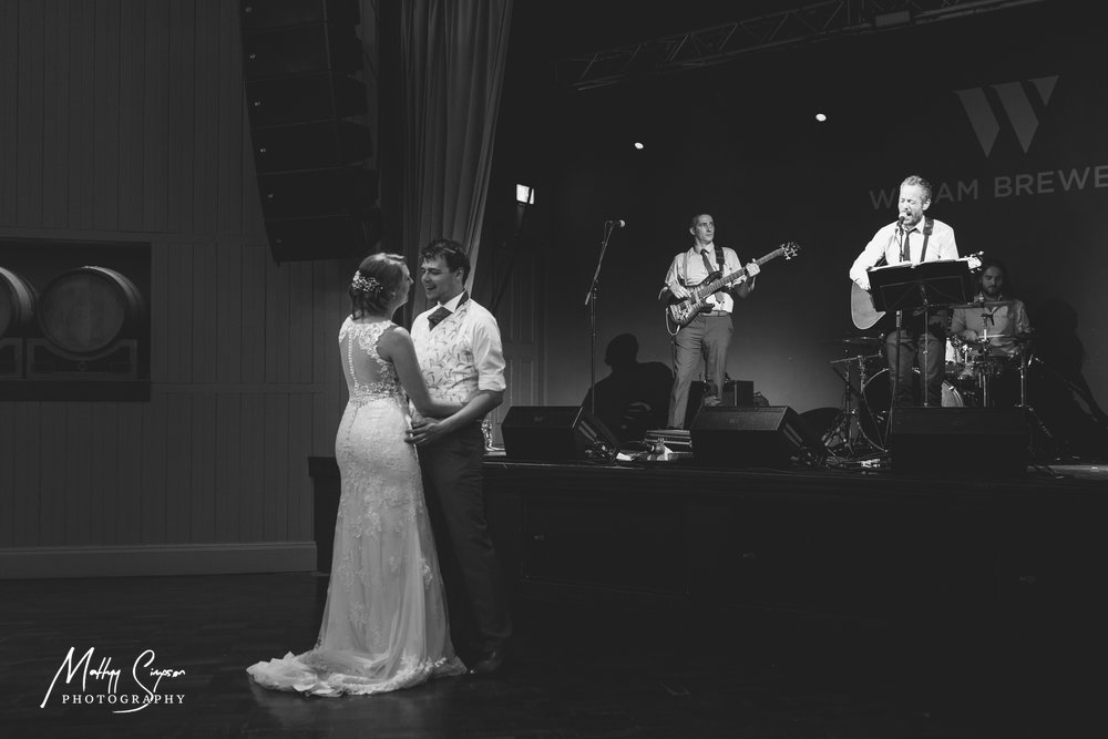 First Dance at Wylam Brewery