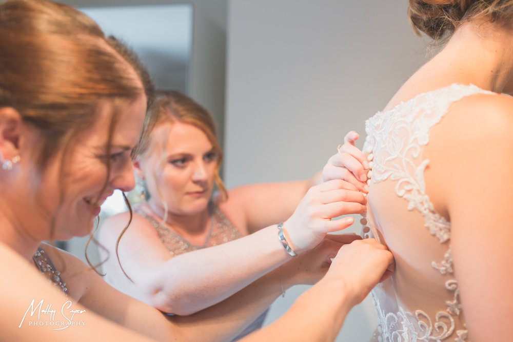 Bridal Prep, Lace Dress