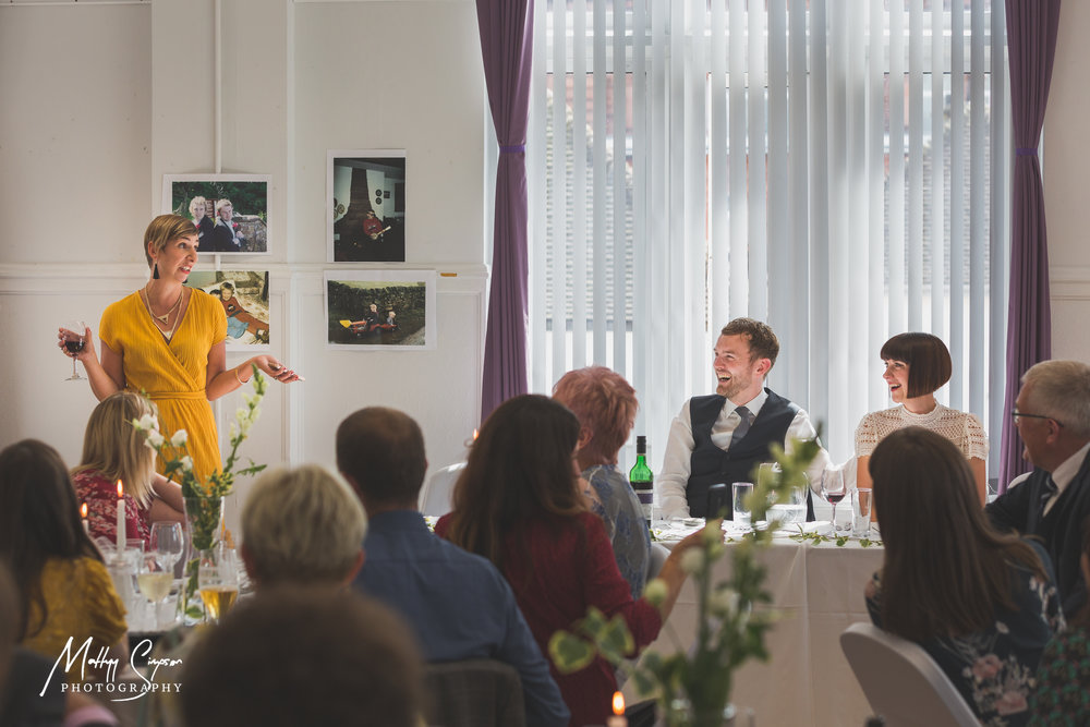 Second Speech by brides friend