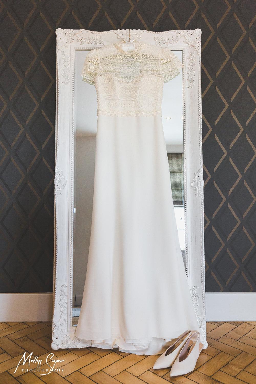 Wedding Dress & Shoes