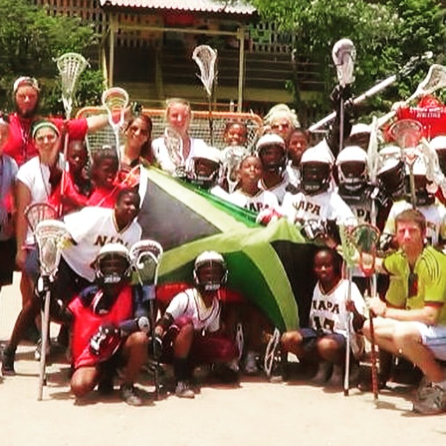WHAT ARE YOU DOING THIS SUMMER? Join a July Session of the @jamaicalacrosse Volunteer Corps!