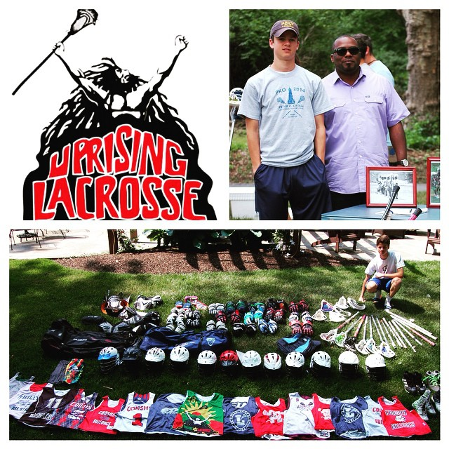 Thanks to Blake Target for this equipment drive for @jamaicalacrosse