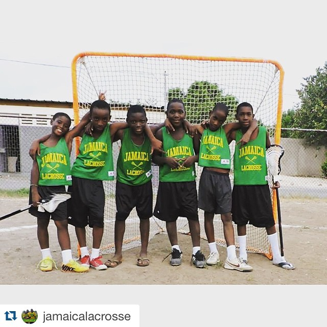 #Repost @jamaicalacrosse ・・・ Here are some of Jamaica's top young laxers. Thanks goes out to @paulcarcaterra for empowering their game with new @maveriklacrosse sticks! #respect #growthegame #jamaicalacrosse