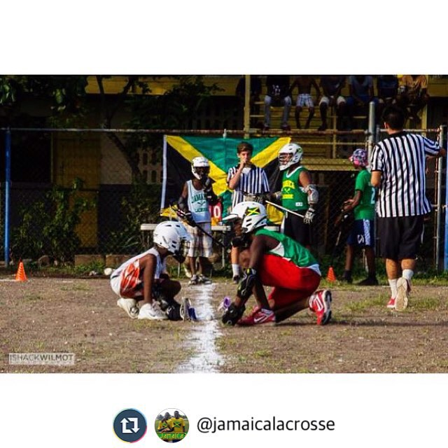 Lucky and honored to work with the kids of @jamaicalacrosse #lacrossevolunteercorps