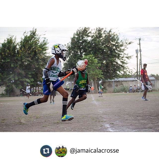 GAME DAY in Kingston! Show down at 3 Mile set for 5pm for @jamaicalacrosse #JamaicaLax #TeamJamaica