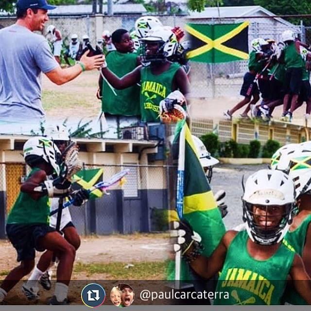 @paulcarcaterra amen to that! #JamaicaLax Team work makes the dream work!