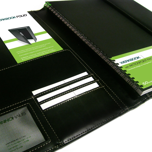 Interior folio packaging