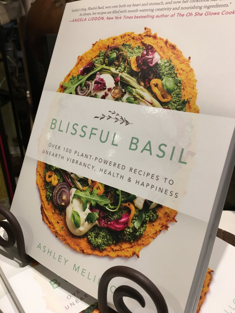 Blissful Basil cookbook by Ashley Melillo