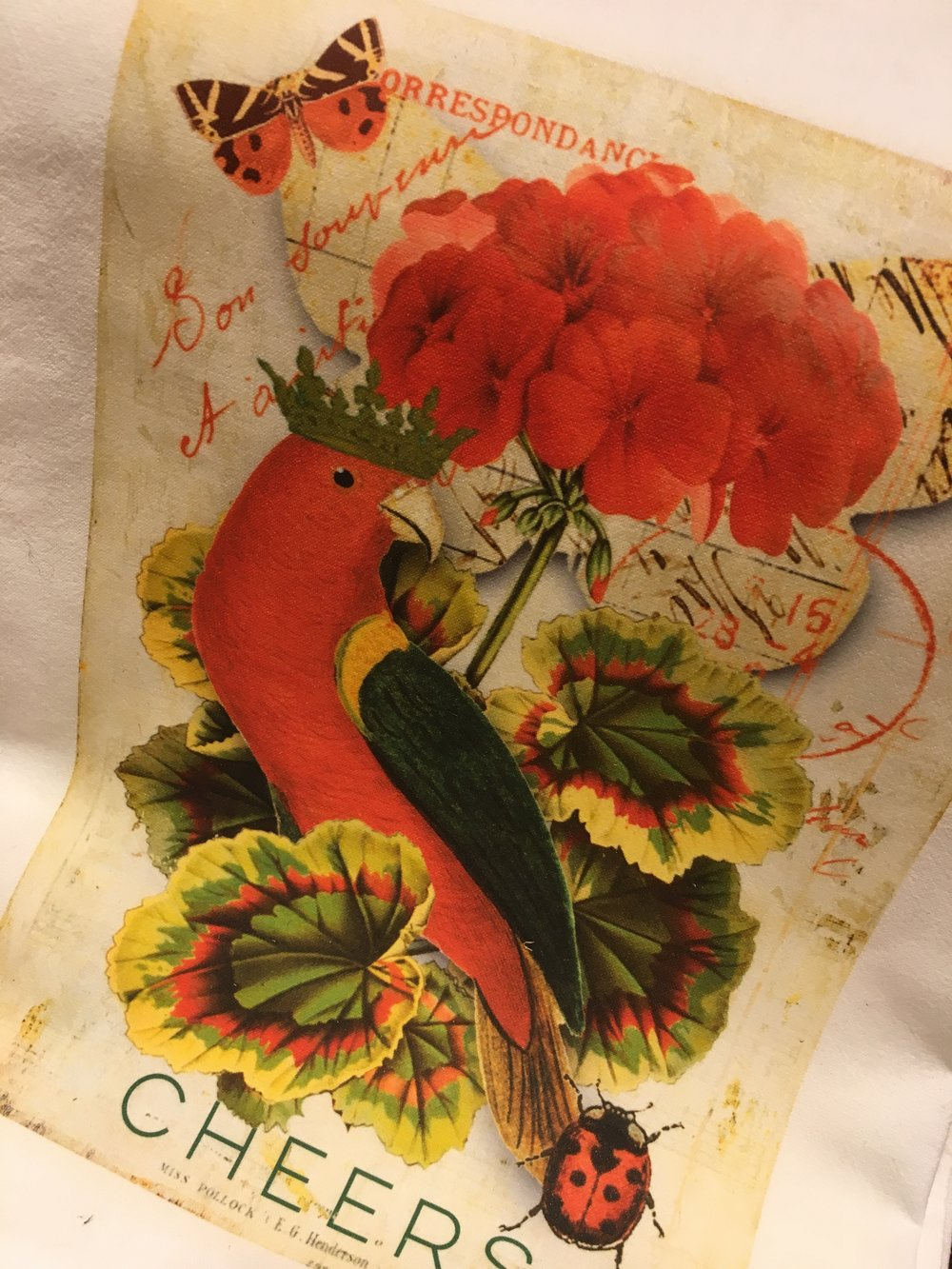 Teatowel central Chez Passionflower.