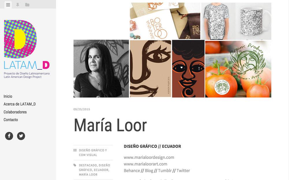 Maria Loor in LATM_D