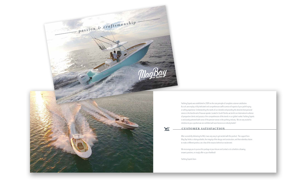 To see the entire catalogue click on the image above to see the digital version on  Yachting Experts  site.