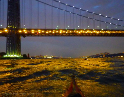 9. Hudson River: George Washington Bridge nocturne