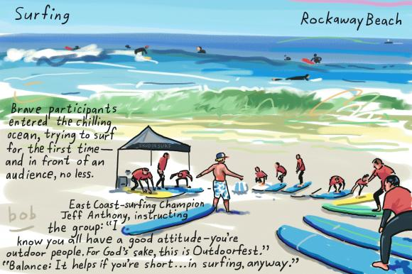 Surf City withSkudin Surf!