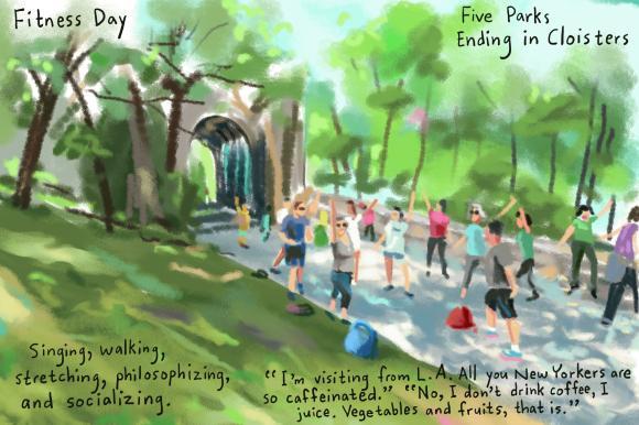 Green Gym Daythroughout Northern Manhattan.