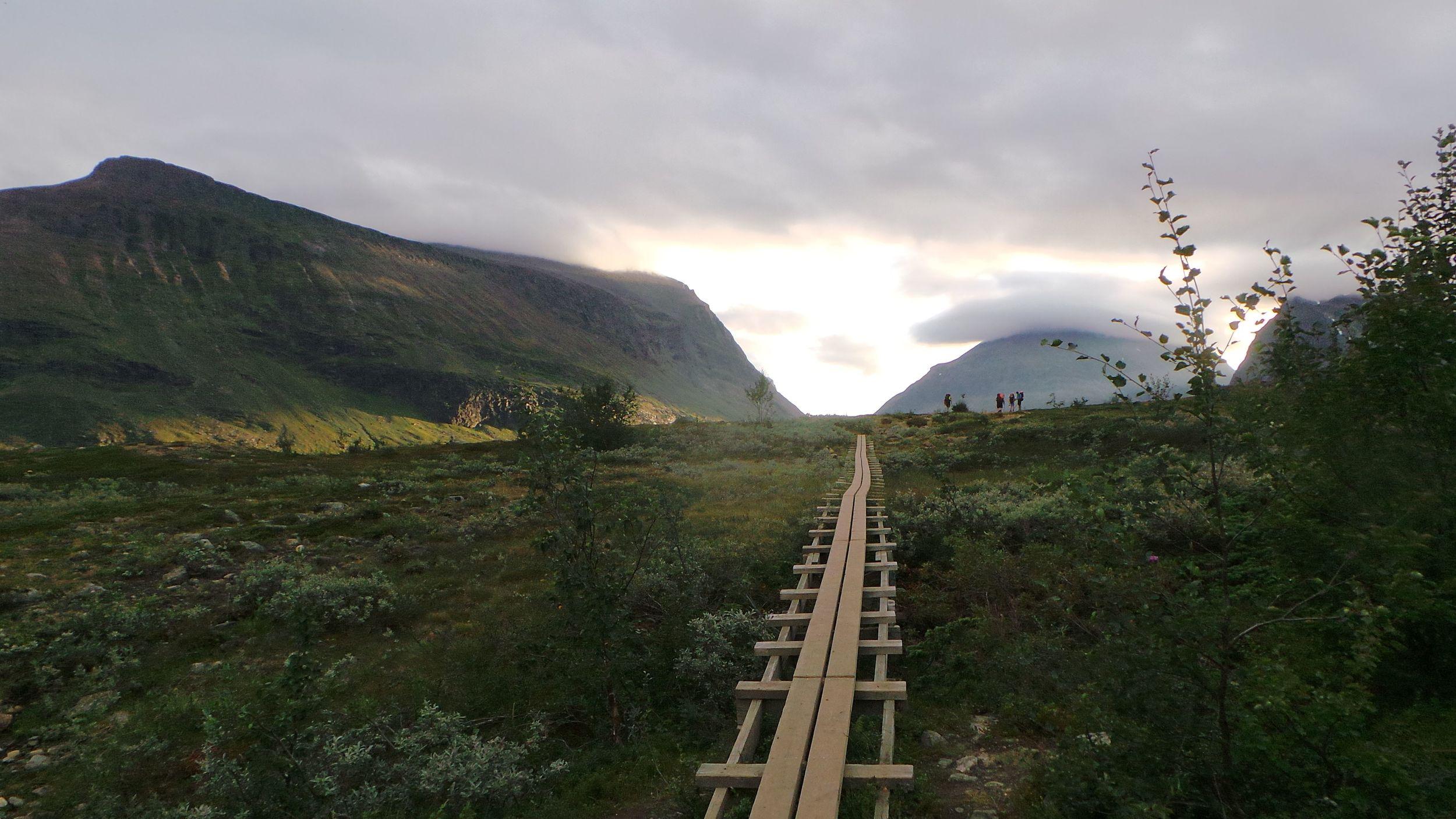 A New Yorker In Swedish Lapland Outdoorfest Fjallraven Abisko Hike 35 Green