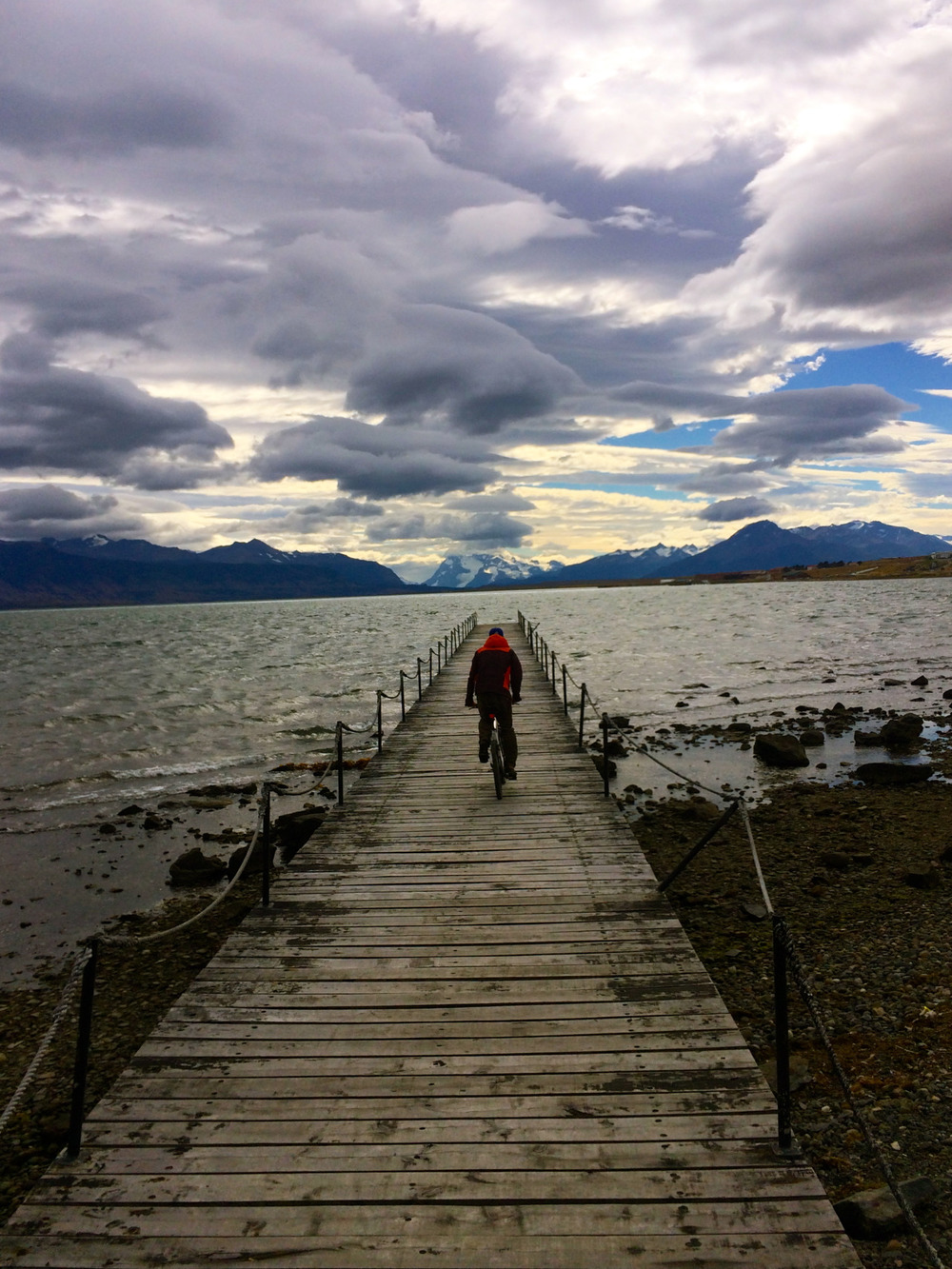 Biking to the end of the earth. Patagonia, Chile. February 2015. Photo copyright Silvie Snow-Thomas.