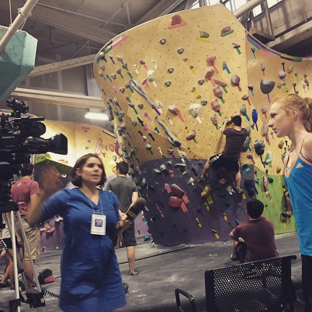 _news12bk_interviewing__millerd13_at_tonight_s_climbing_comp_at__brooklynboulders_with__adaptclimbgroup___OFNYC15__bkblove__acg__livewithoutlimits__adidasoutdoor__climbnyc__climb_by_outdoorfest.jpg