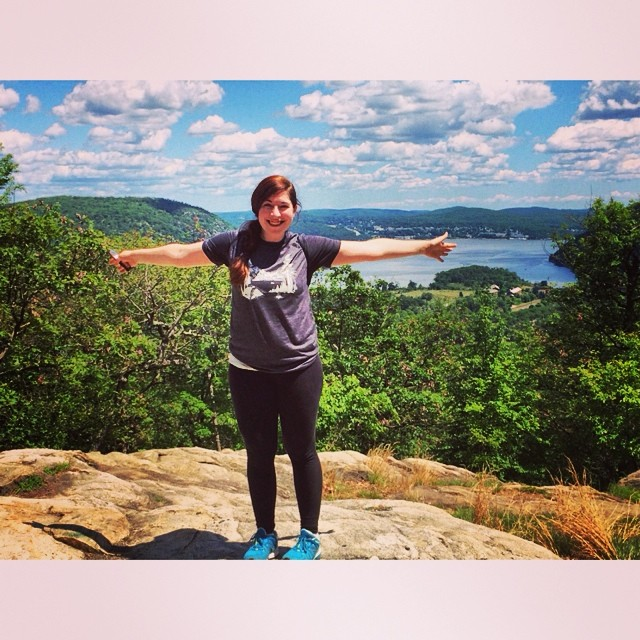 Photo from atop Bear Mountain during OutdoorFest 2014.