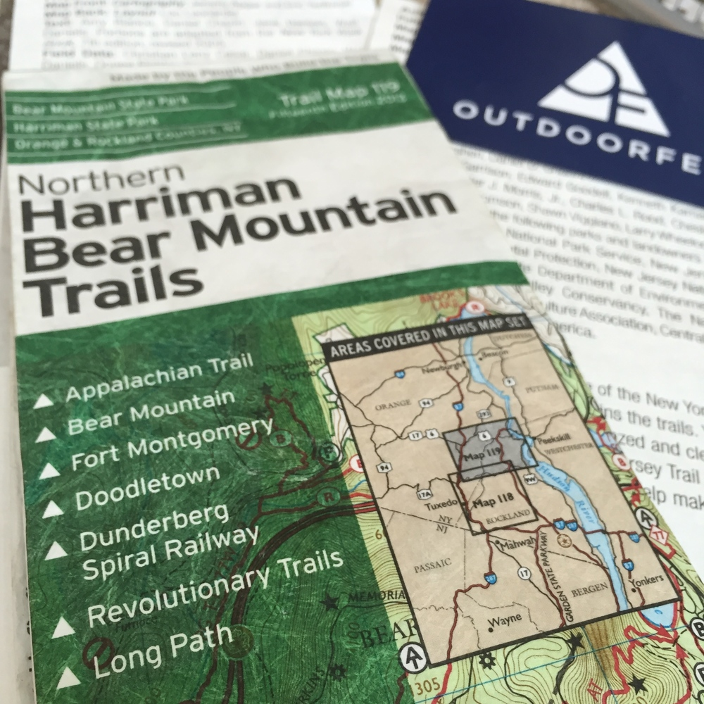 Make sure to be prepared: grab the NYNJTC Harriman Map Set from your local retailer.