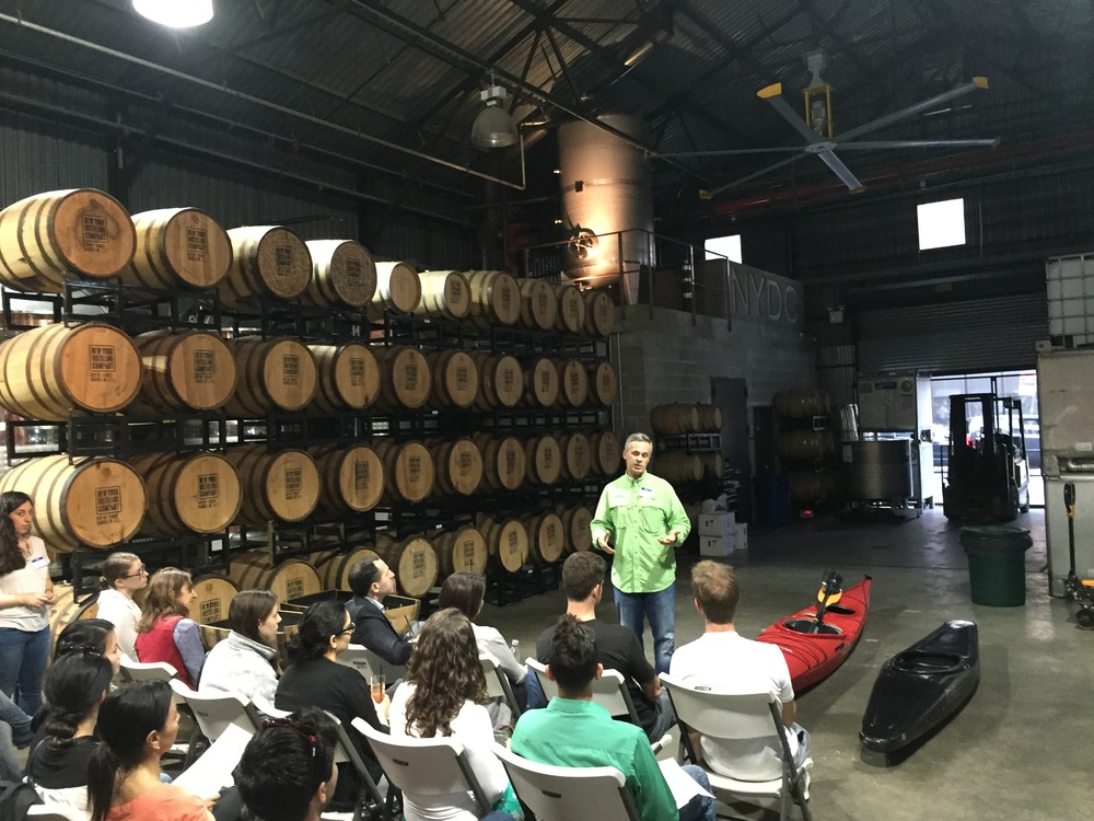 NYC May Mappy Hour at NY Distilling Co.