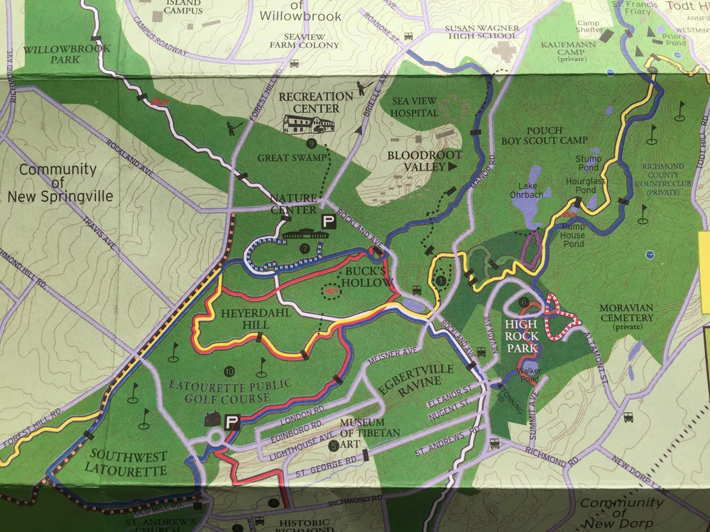 Trail Maps are available for free inside the Nature Center