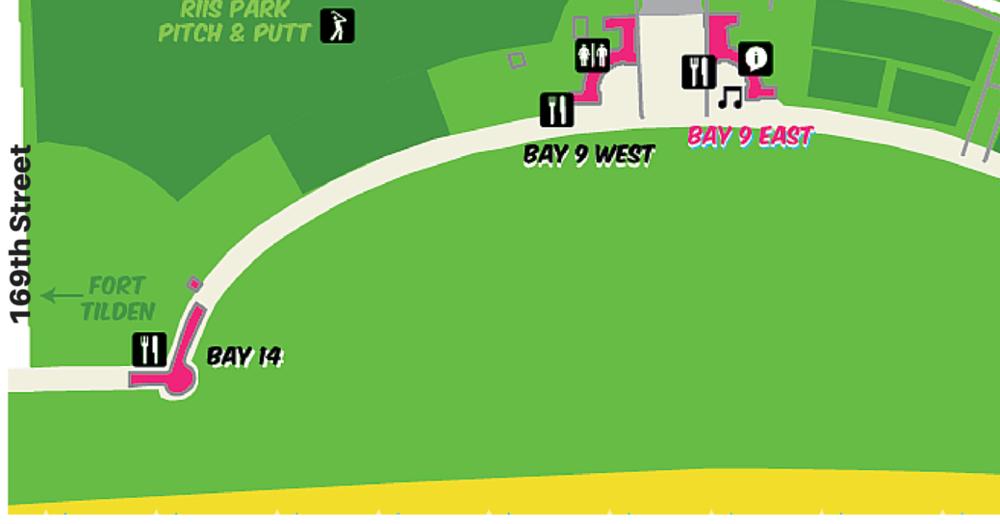 Riis Park Beach Bazaar Map