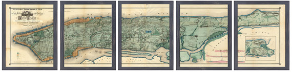 Printed Map | RetroPrintmaker