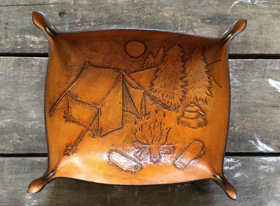 Campfire Key Tray | Bunsai Leather