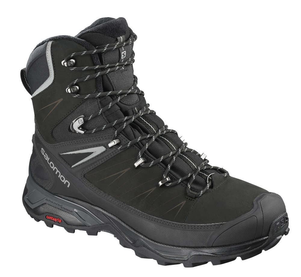 Salomon X-Ultra Winter CS WP - $180.00For the all-season adventurer, these boots can battle both slush and snow with full waterproof protection. The boot mixes a light supportive midsole with an aggressive outsole for total confidence in less than sunny conditions. Perfect for the city or the trail.