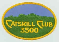 The Catskill 3500 Club patch, which you can proudly flaunt once you've climbed all 35 high peaks in the Catskills.