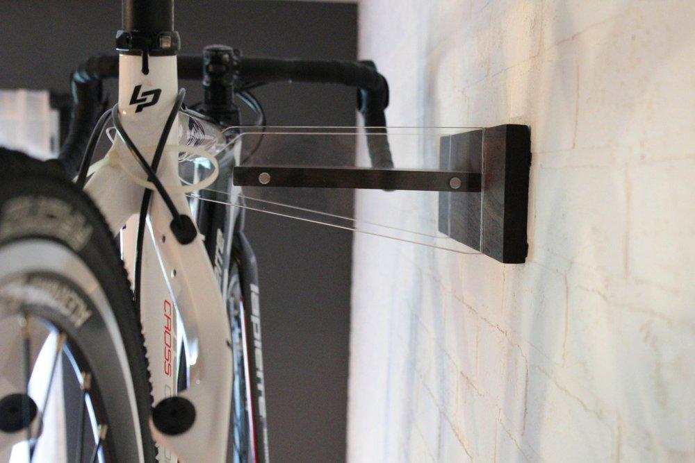 Walnut Wood Bike Rack | Husk and Brown