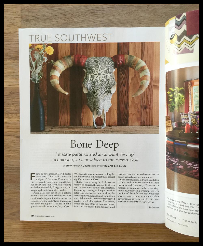 phoenix home and garden magazine true southwest, june 2015