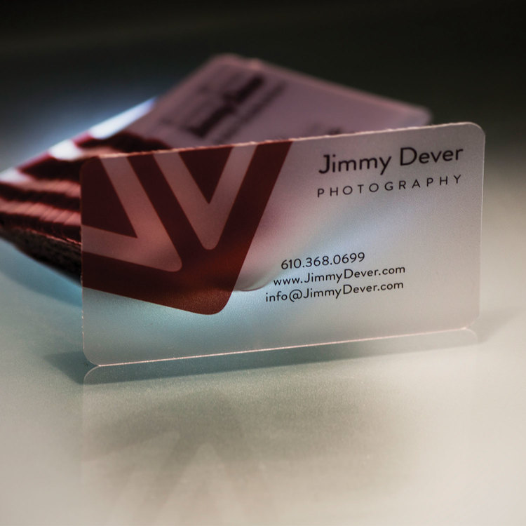 Jimmy Dever Business Cards — Rhianon Creates Graphic Design Philadelphia