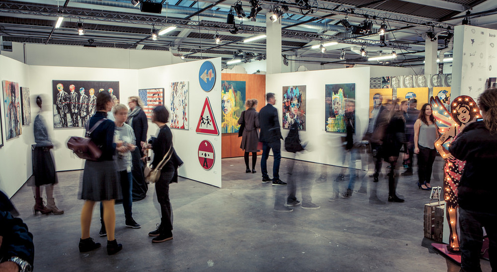 Moniker Art Fair 2015. Image: Moniker Projects