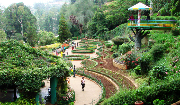 Pictured: A Beautiful Botanical Garden, Gross Profits Unknown