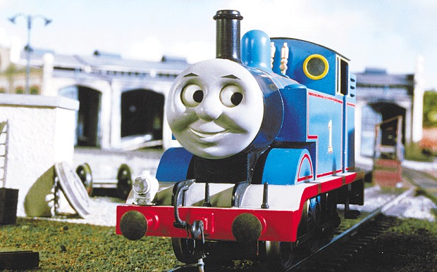 dont cry children thomas the tank engine can never get