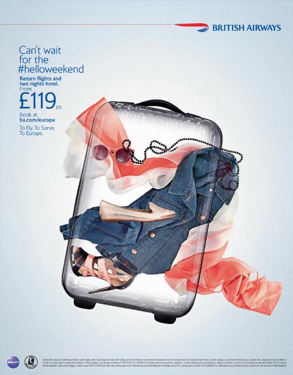 British Airways Europe. Helloweekend