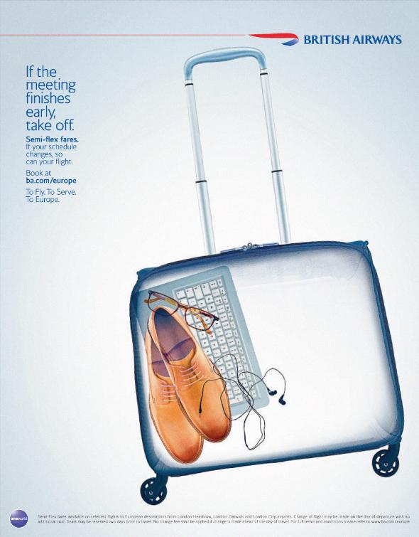 British Airways Europe. Semiflex