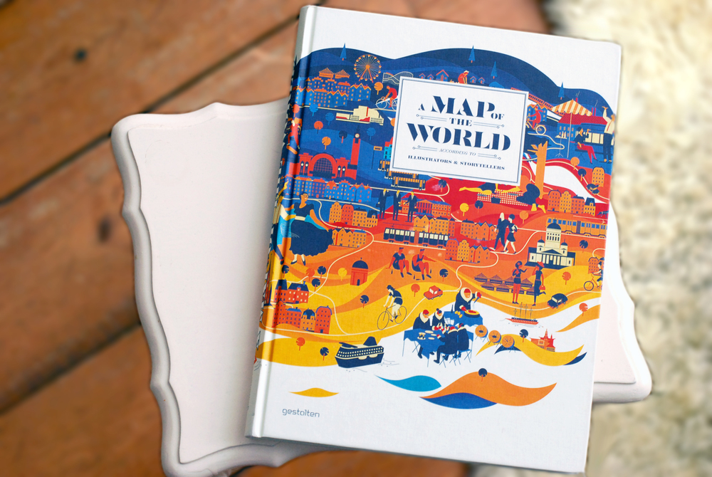 Book review a map of the world the world according to illustrators you may have spotted it on my illustrated journal page back in december but i got a map of the world the world according to illustrators and storytellers gumiabroncs Image collections